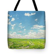 Walter Ufer 1876 - 1936 The American Desert Tote Bag