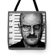 Walter White Mug Shot Tote Bag