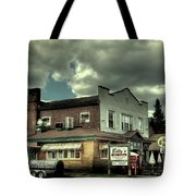 Walt's Diner - Vintage Postcard Tote Bag