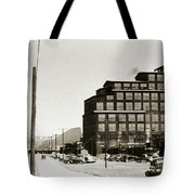 Wanamie Pa Wanamie  Number 18 Coal Breaker 1944 Tote Bag
