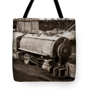 Wanamie Pennsylvania Coal Mine Locomotive Lokey 1969... Tote Bag