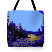 Wanapitae River Morning Tote Bag