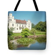 Wanas Castle Duck Pond Tote Bag