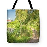 Wanas Castle Secret Gate Tote Bag