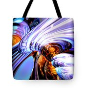 Wandering Helix Abstract Tote Bag