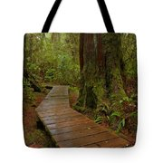 Wandering Through The Rainforest Tote Bag