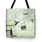 Wanna Lift Tote Bag by Wendy McKennon