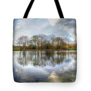 Wanstead Park Reflections Tote Bag