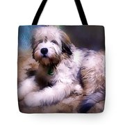 Want A Best Friend Tote Bag by Kathy Tarochione