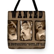 Wanted The Outlaw Gang Tote Bag