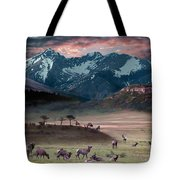Wapiti Heaven Tote Bag