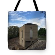 Wappapello Dam Gate House Tote Bag