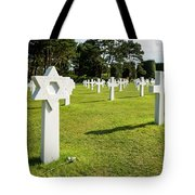 War Crosses In Normandy Tote Bag