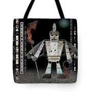 War Games With Fritz Tote Bag