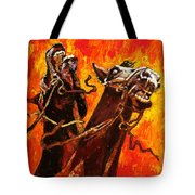 War Horses Tote Bag