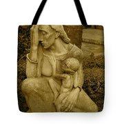 War Mother By Charles Umlauf Tote Bag
