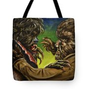 War Of The Lupus Tote Bag