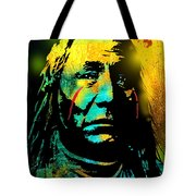 War Paint Tote Bag