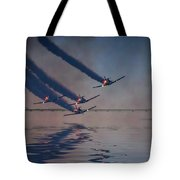 Warbirds On Mission Tote Bag