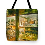 Wardrobe With Ceramic Objects Tote Bag