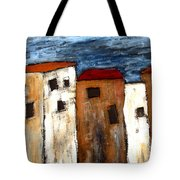 Warehouse Row Tote Bag
