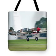 Warhawk Rolling Out Tote Bag