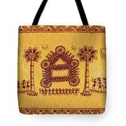 Warli Ceremony Tote Bag