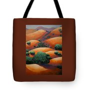 Warm Afternoon Light On Ca Hillside Tote Bag