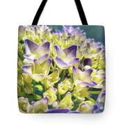 Warm Blues Tote Bag