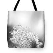 Warm Breeze - Black And White Version Tote Bag