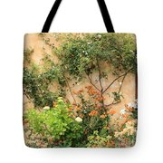Warm Colors In Mission Garden Tote Bag