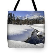 Warm Creek Tote Bag