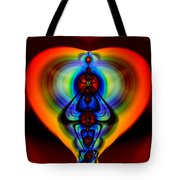 Warm Heart Tote Bag