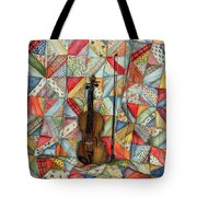 Warm Melodies Tote Bag