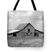 Warm Memories - Black And White Tote Bag