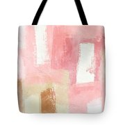 Warm Spring 2- Abstract Art By Linda Woods Tote Bag