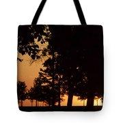 Warm Sunrise Tote Bag