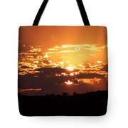 Warm Sunset Tote Bag