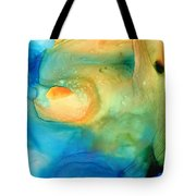Warm Tides - Abstract Art By Sharon Cummings Tote Bag