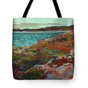 Warm Tundra Tote Bag