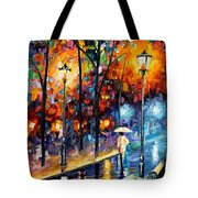Warm Winter Tote Bag