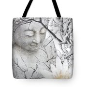Warm Winter's Moment Tote Bag