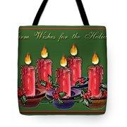 Warm Wishes Tote Bag