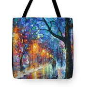Warmed By Love Tote Bag