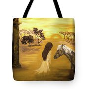 Warmth Of Contentment  Tote Bag