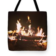Warmth Of The Night Tote Bag
