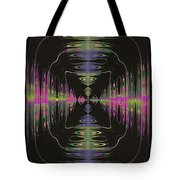 Warping Neon Tote Bag