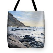 Warren Point Sunset Duckpool Tote Bag