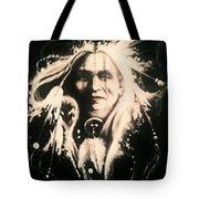 Warrior 1 Tote Bag