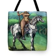 Warrior Maiden Tote Bag